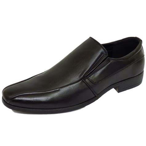 mens slip on smart work wedding smart formal loafers
