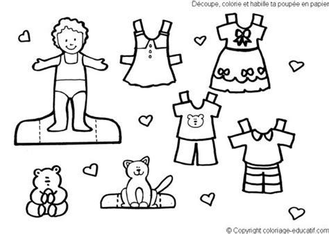 Make Your Own Color Paper - best photos of color your own paper dolls printable