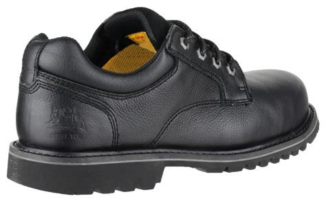Caterpillar S7 Safety Boot caterpillar cat electric lo mens lace up leather safety shoes black ebay