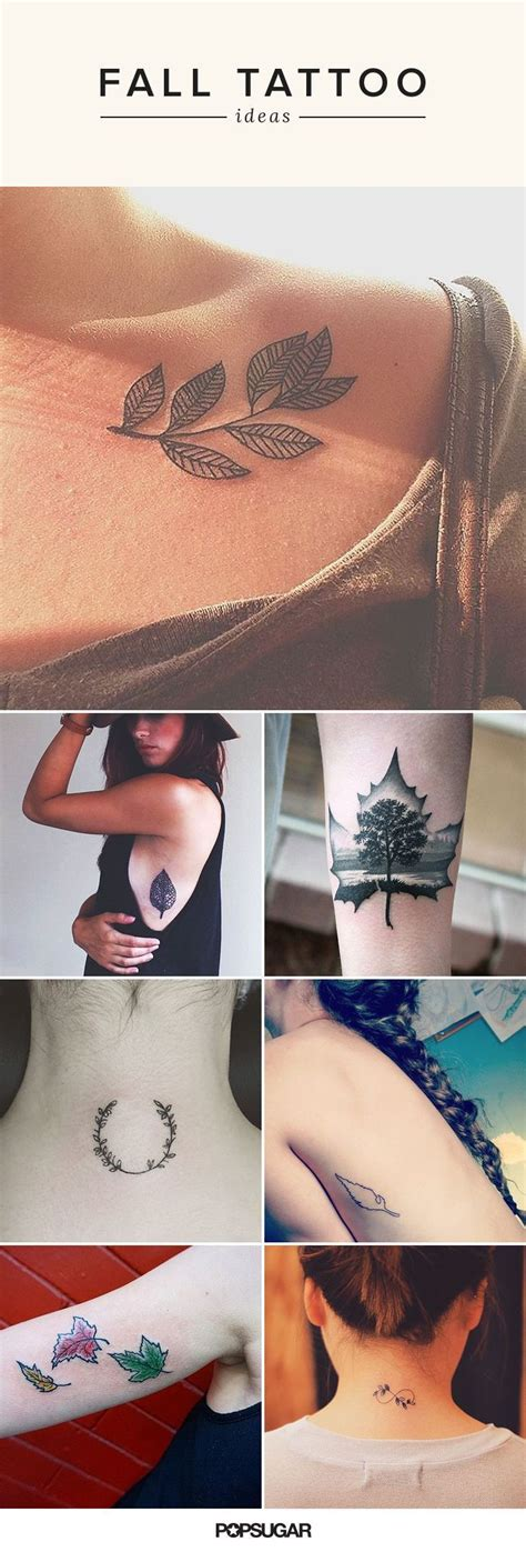 where to put a tattoo 17 fall inspired tattoos that show the dreamiest