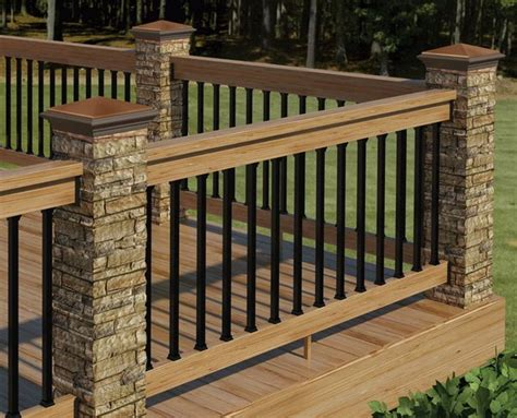 Ideas For Deck Handrail Designs 20 Creative Deck Railing Ideas For Inspiration Hative