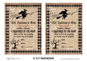 halloween invitations free templates gallery for gt free printable halloween party invitations