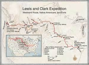 Lewis And Clark Route Map by Sacagawea And Lewis And Clark Timeline Images Amp Pictures