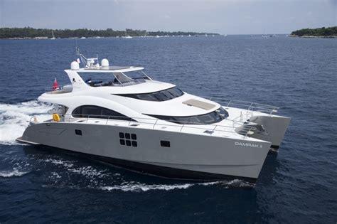 catamaran vs monohull in rough seas damrak ii luxury power catamaran casual caribbean