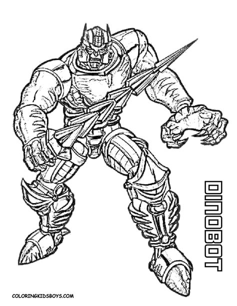 Tenacious Transformers Coloring Page Yescoloring Free Transformers Coloring Pages To Print