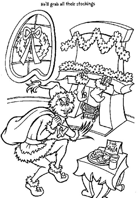 Grinch Coloring Pages Coloring Pages To Print Free Coloring Pages Grinch