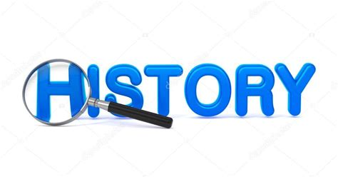 origin of the word history blue 3d word through a magnifying glass stock photo 169 tashatuvango 45467953