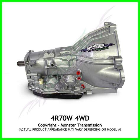 4r70w transmission remanufactured performance heavy duty 4x4