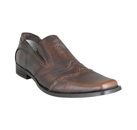 nason loafers nason lounge brown distressed leather recovery square