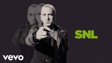 Eminem On Snl | eminem berzerk live on snl youtube