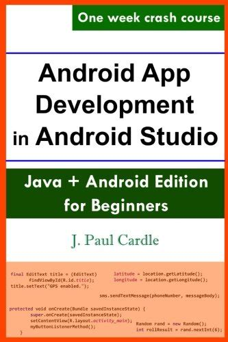 android development pdf android app development in android studio pdf e books