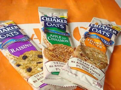 marketing cappuccino quaker oats cookie