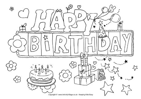 happy birthday best friend coloring pages happy birthday colouring page