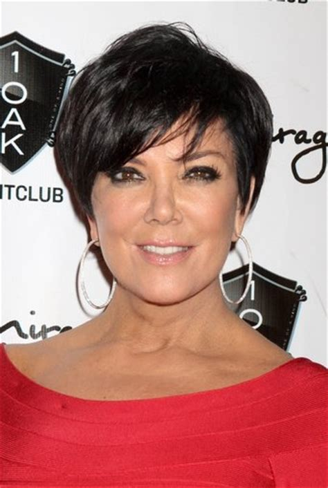 hair cut short like kris kardashian jenner and the technical kris jenner haircuts great short hair for women over 50