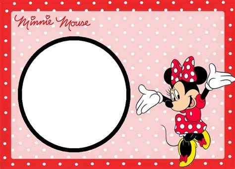 templates for minnie mouse invitations minnie mouse photo invitation template orderecigsjuice info