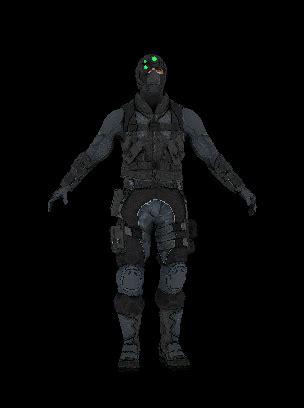 the game online: archer soldier skin