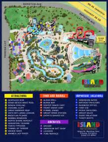 park map island waterpark