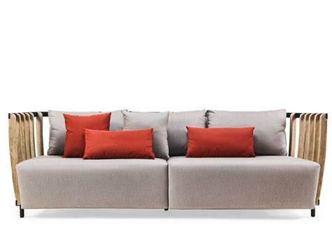 swing sofa swing 3 seater sofa by ethimo design patrick norguet