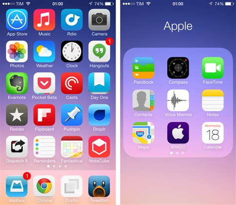 iconoclasm layout maker ios 8 image gallery iphone default app layout