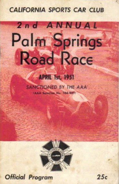 palm track race results palm springs production s1 5 1951 racing sports cars