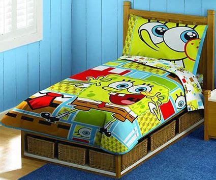 Spongebob Crib Bedding Spongebob Squarepants Toddler Bedding 4 Set Toddler Bedding Sets