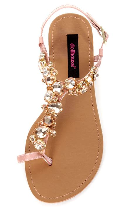 gold bling sandals dollhouse radiant gold rhinestone studded