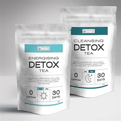 Detox Pack Uses by 30 Day Detox Tea Pack Am Pm Rejuved Nation