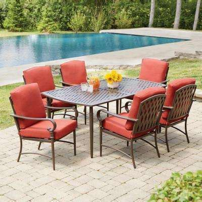 backyard patio awnings oak cliff custom 3 piece metal special values patio furniture outdoors the home depot