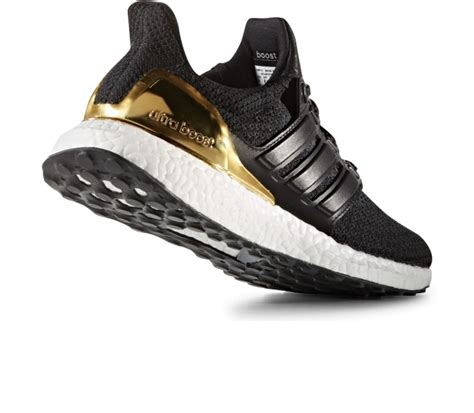 Adidas Ultra Boost Gel Black Premium adidas ultra boost ltd s running shoes black gold