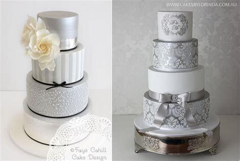 Silver Anniversary Cakes   Cake Geek Magazine   Cake Geek