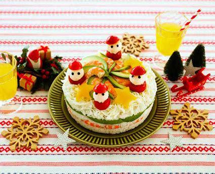 Lingkaran Natal Unik cake sushi untuk natal jadi kreasi unik di jepang tahun ini