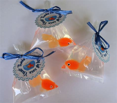 goldfish themes 10 goldfish in a bag soap party favor carnival theme elmo