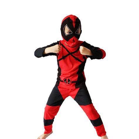 disfraces dead pool aliexpress com buy boy deadpool costume halloween