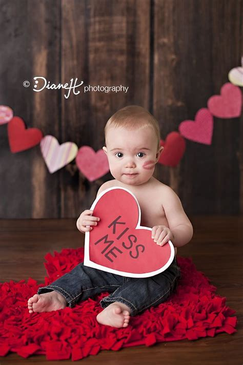 newborn valentines day 14 picture ideas for baby toddler creative
