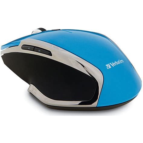 Mouse Wireless Deluxe verbatim wireless notebook 6 button deluxe blue led mouse 99016
