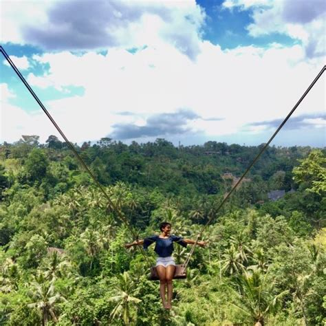 swing bali bali swing is best of bali activities tour rukmana bali tour