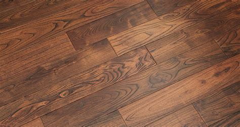 Deluxe Caramelised Teak Lacquered Solid Wood Flooring