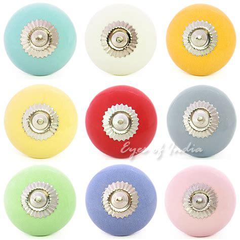Colorful Dresser Knobs by Ceramic Decorative Cupboard Dresser Cabinet Door Knobs Pulls Handles Colorful Ebay