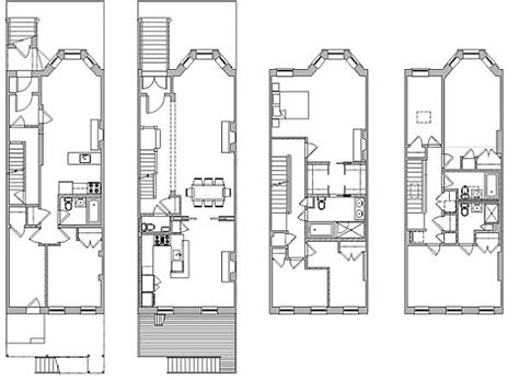 brooklyn brownstone floor plans 1st street brownstone renovation eric safyan architecture