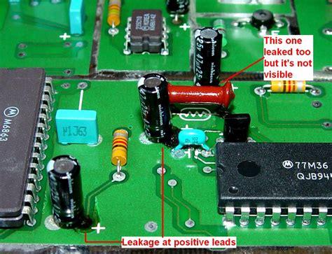replacing ecu capacitors cleaning leaking capacitor 28 images leaky capacitor jwc replacing capacitors in radios and