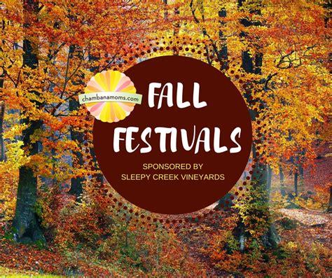 chaign urbana area fall festivals