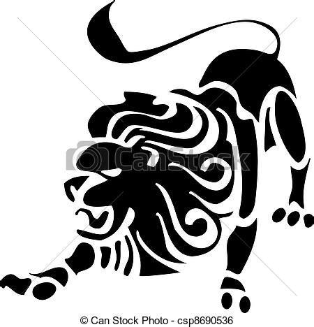 imagenes vectores leon clip art de vectores de rey le 243 n le 243 n rey csp8690536