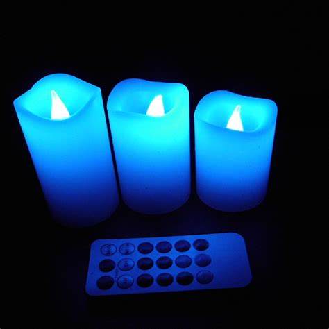 remote control flickering tea lights flickering colorful flameless led tea light battery time
