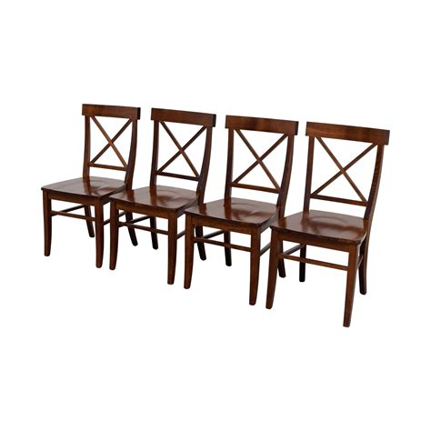Pottery Barn Chairs Dining 58 Pottery Barn Pottery Barn Aaron Wood Dining Chairs Chairs