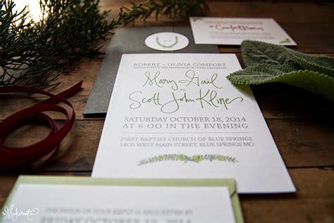 Wedding Invitations Ta by The Makerista A Handmade Wedding Invitation