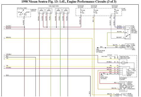 nissan b14 ecu wiring diagram wiring diagram