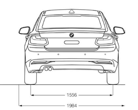 Bmw 1er Coupe Abmessungen by Bmw 2er Coupe F22 Abmessungen Technische Daten