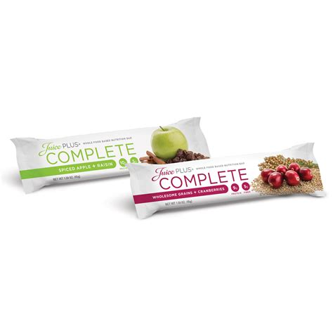 Complete Bar Juice Plus Inspired Living With Mojica