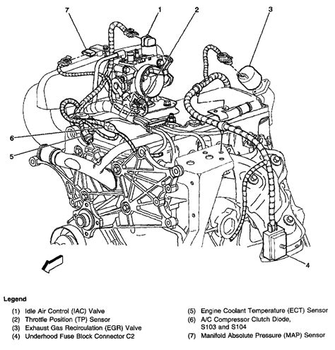 1998 chevy s10 2 2l sfi engine can t find egr valve picture in repair manual shows small egr