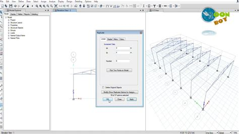 tutorial etabs youtube etabs 2015 tutorial 10 steel truss modelling and design